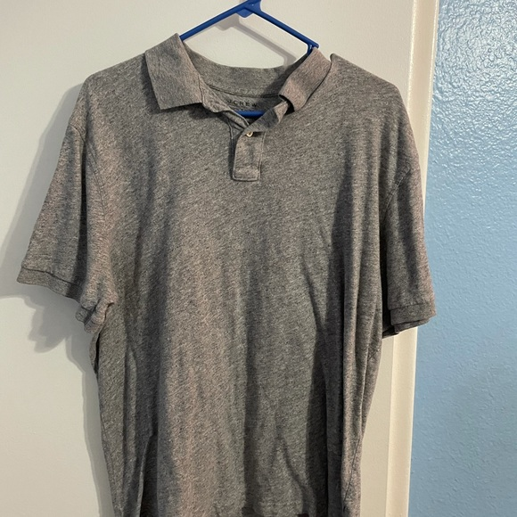 J.Crew Men's Gray Shirt sleeve dress shirt